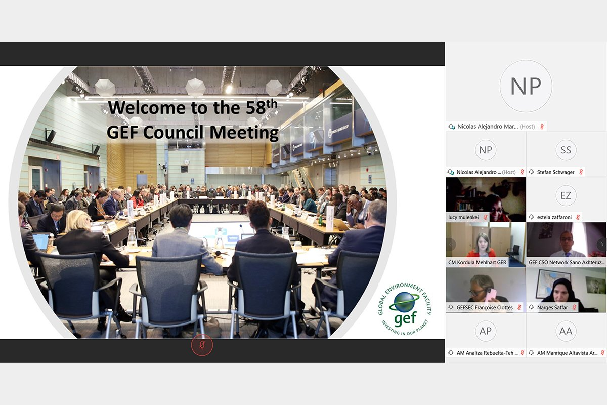 Opening of the 58th GEF council meeting