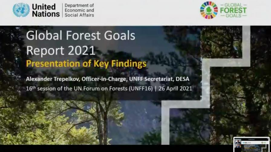 Presentation of the Launch of the Global Forest Goals Report 2021