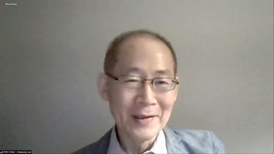Hoesung Lee, IPCC Chair
