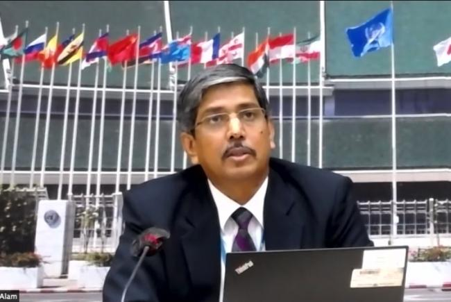 Mozaharul Alam, Regional Coordinator, Climate Change Sub-programme at United Nations Environment Programme (UNEP)
